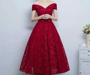burgundy prom dresses, dress, and burgundy prom dress image