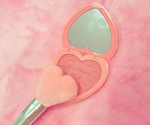 girls, heart, and make up image