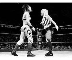 wrestling, wwe raw, and wwe bayley image