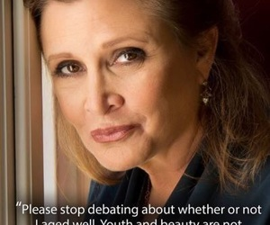 carrie fisher, inspiration, and wisdom image