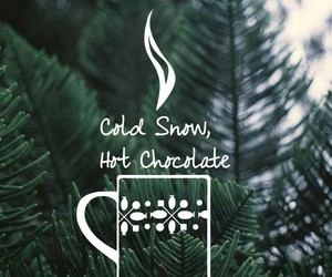 coffee, snow, and cold image