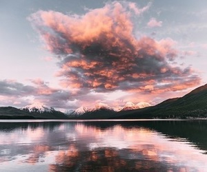 nature, sky, and pink image