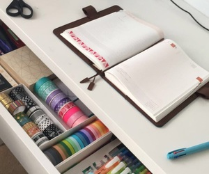 college, pastel, and planner image