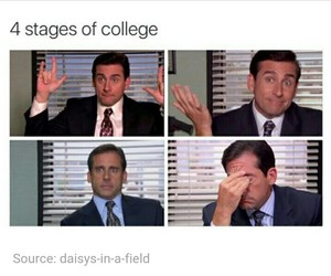 funny, college, and tumblr image