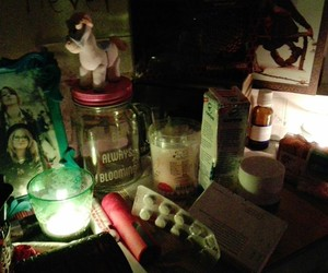 candles, obscure, and frame image
