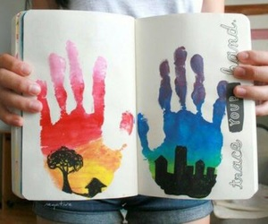 art, hands, and wreck this journal image