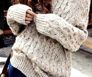 sweater, winter, and autumn image