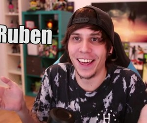 youtube, rubén, and elrubius image