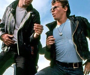 grease, boys, and movie image