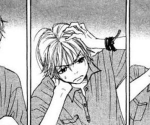 manga, manga guy, and lovely complex image
