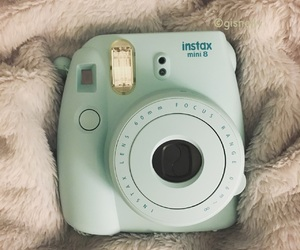 blue, instaxmini8, and photography image