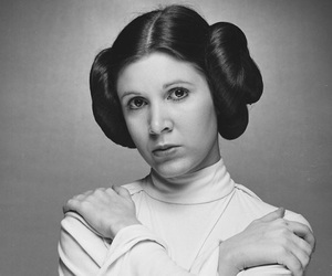 carrie fisher, rip, and star wars image