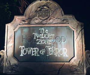 disney, disney world, and Hollywood Tower Hotel image