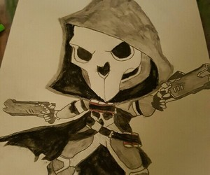 dessin, reaper, and game image