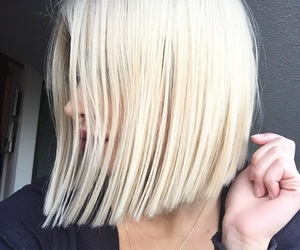 blonde, bob, and experience image