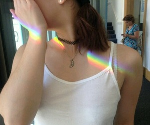beautiful, pretty, and grungerainbow image