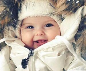 sonrisa, contento, and bebé image