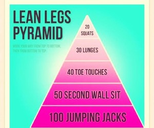 workout, toned legs, and for girls image