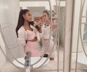 ariana grande, scream queens, and pink image