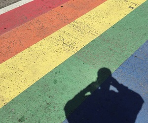rainbow, lgbt, and aesthetic image