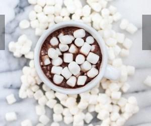 chocolate, christmas, and mashmellows image