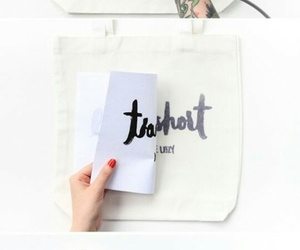bag, diy, and white image
