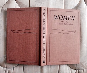 book, woman, and charles bukowski image