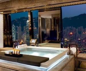 bathroom, house, and view image
