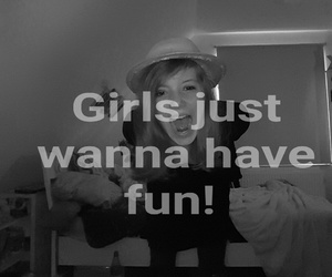 black and white, cool, and girls image