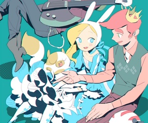 adventure time and anime image