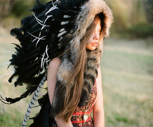 girl, indian, and indie image