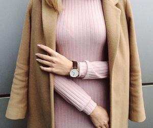 clothes, coat, and elegant image