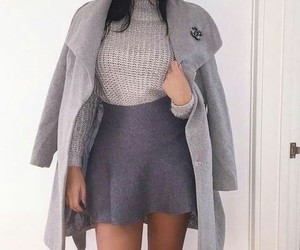 beautiful, chanel, and gray image