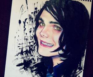art, emo, and gerard way image