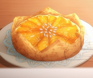 pie and anime food image
