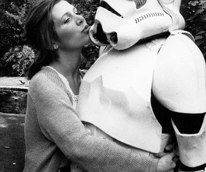 beauty, carrie fisher, and Princess Leia image