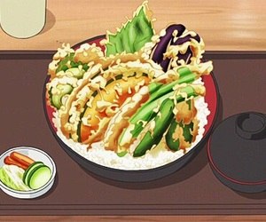 tempura and anime food image