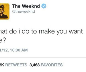 quote, xo, and the weeknd image