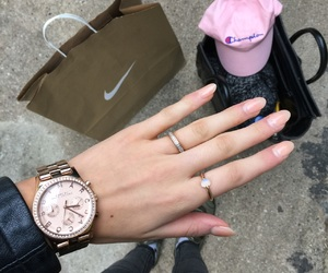 bags, champion, and montre image