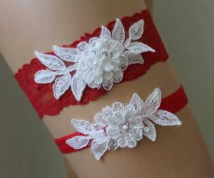 etsy, wedding lace garter, and wedding garter image