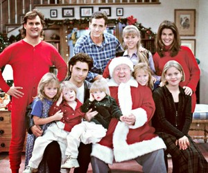 christmas, full house, and family image