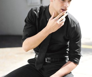 black, Hot, and model image