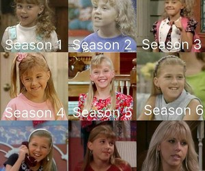 blonde, full house, and sisters image