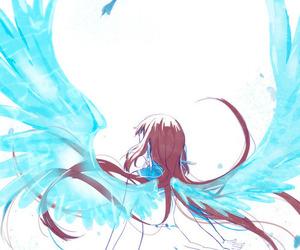 anime, nagi no asukara, and angel image
