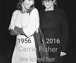carrie fisher, Princess Leia, and rip image