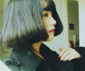 girl, butifull, and hair image