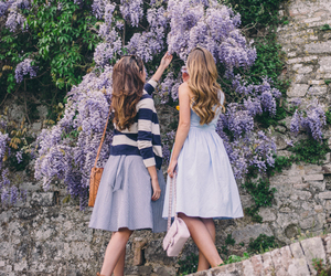 best friends, dress, and friendship image