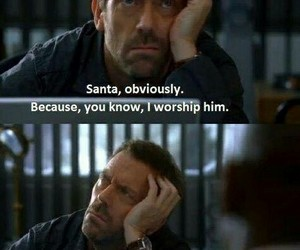dr house, funny, and house image