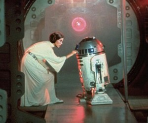 a new hope, carrie fisher, and hope image