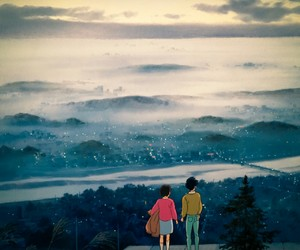 whisper of the heart, couple, and studio ghibli image